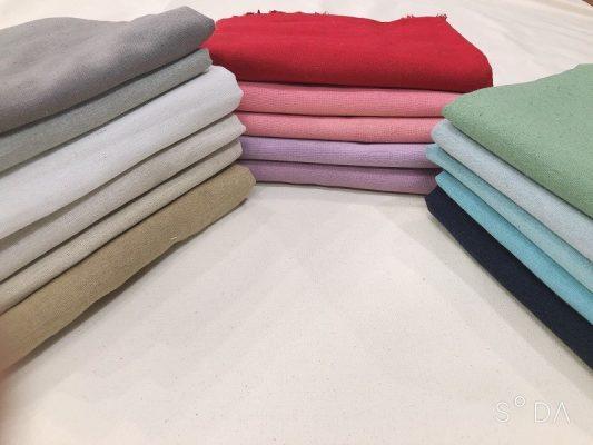 Vải Linen bột là gì?